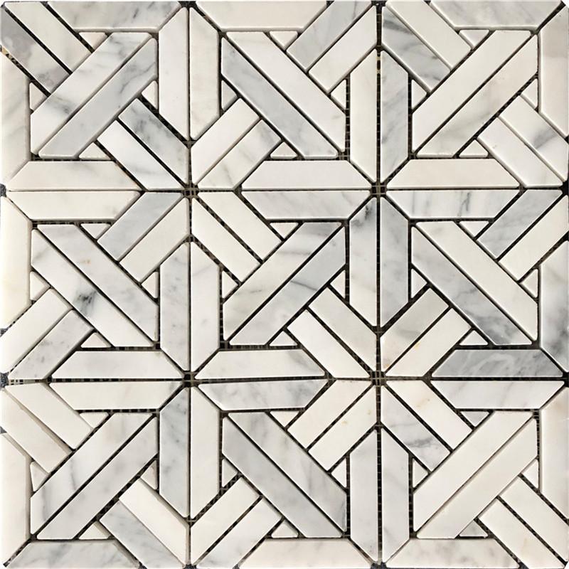 Bianco Carrara Marble Mosaics
