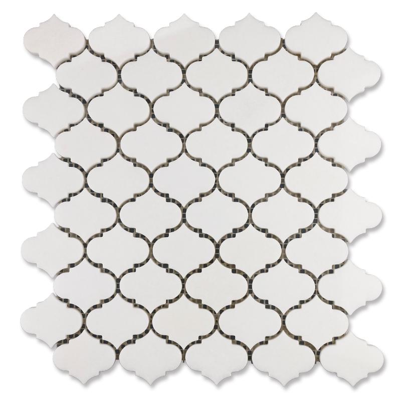 Thassos White Lantern Marble Mosaic