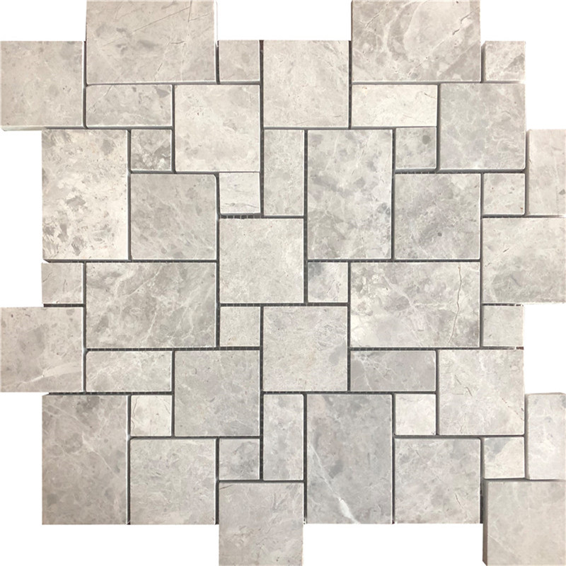 Gray Silver Marble Mosaic