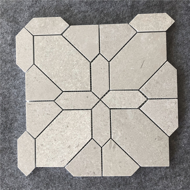 Grey Girl Marble Mosaic