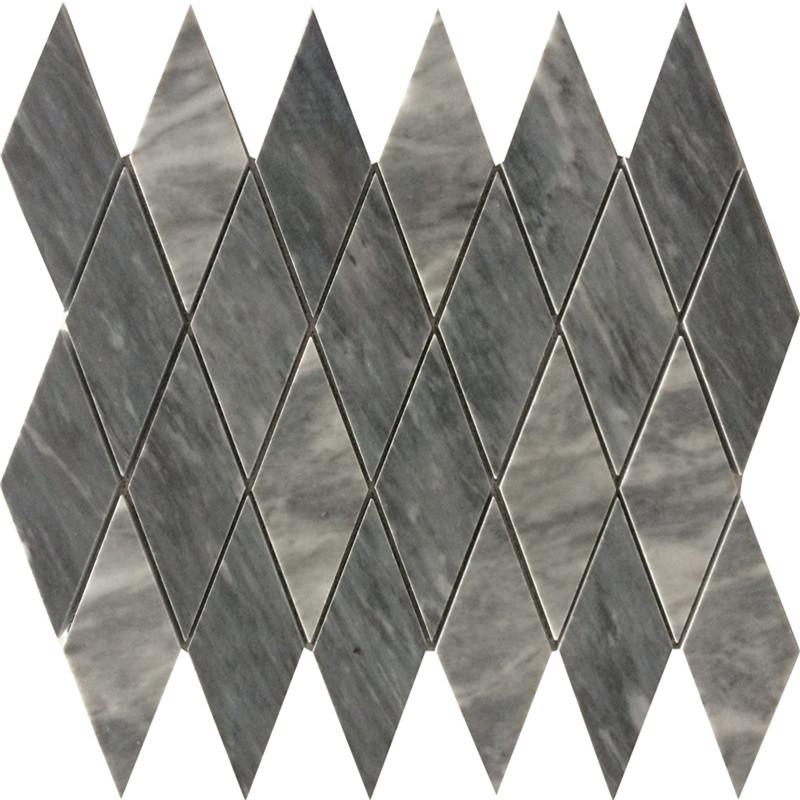 Bardiglio Grey Marble Mosaic