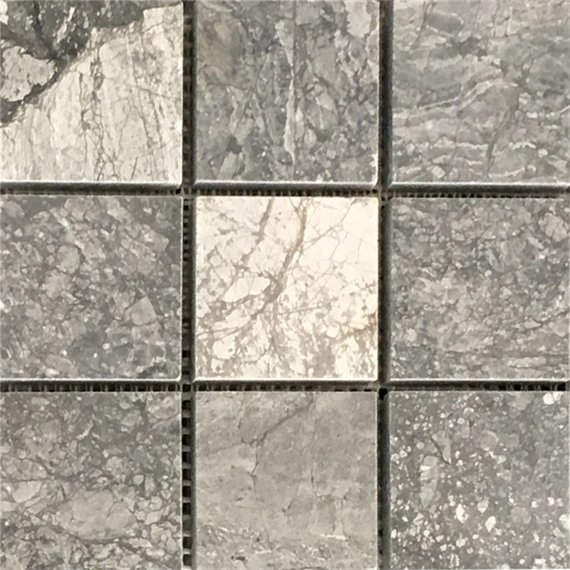 Fancy Grey Marble mosaic