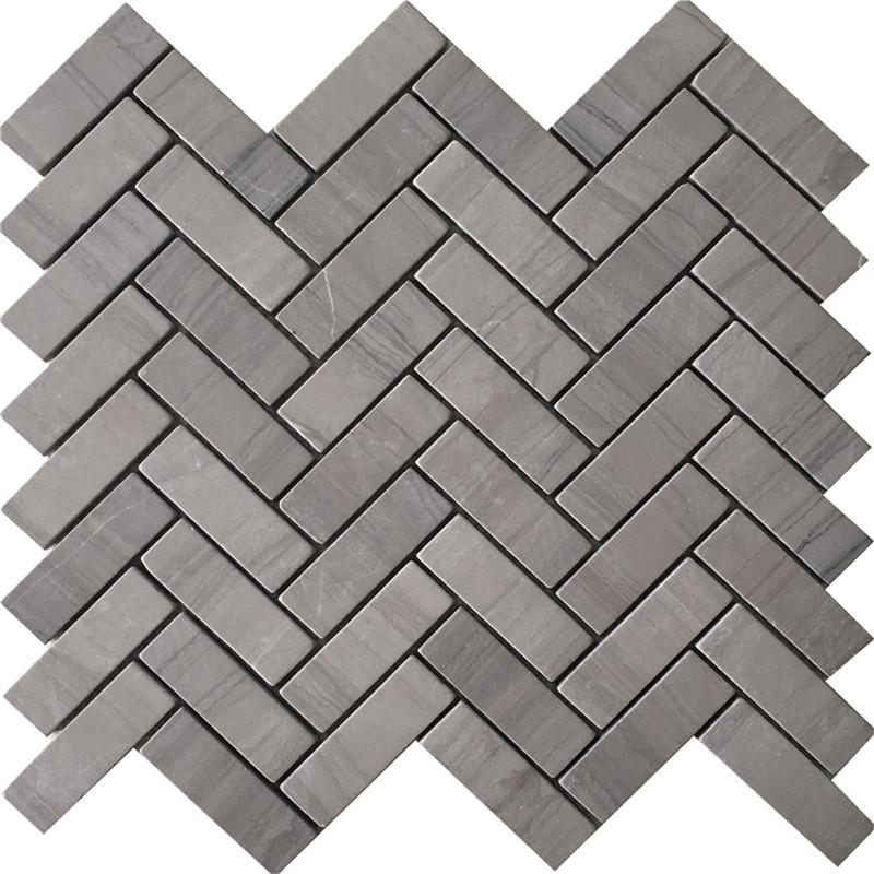 Athens Gray Marble Mosaic