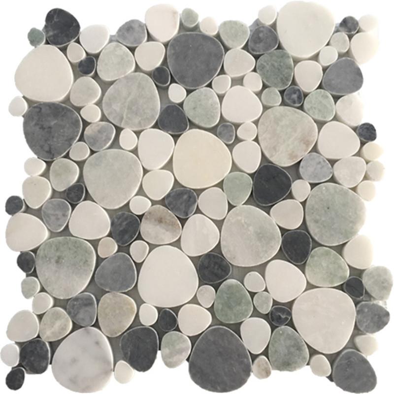 Heart shape Mixed Marble Mosaic