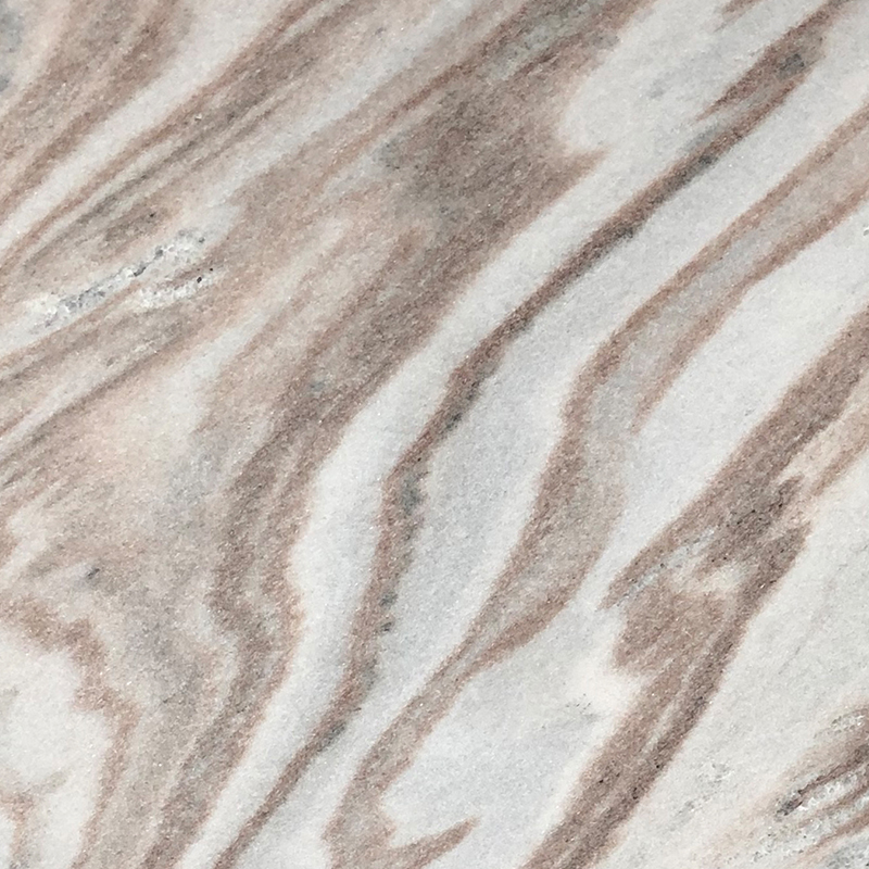 Wave White Marble Tile