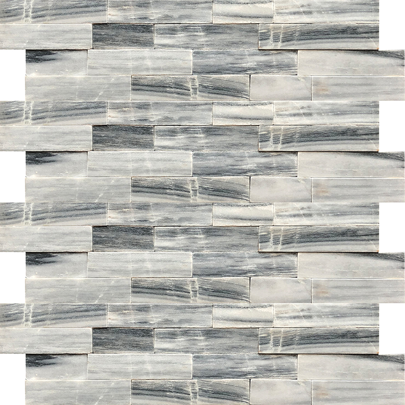 Ledger Panel - Cloudy Grey Marble