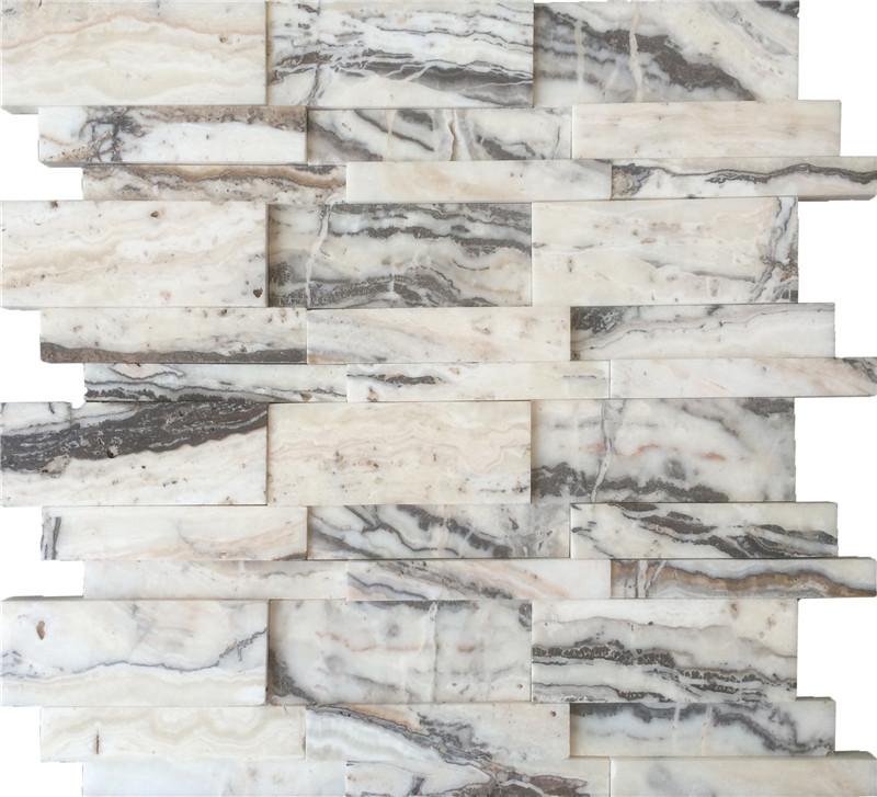 Ledger Panel - Royal White Travertine