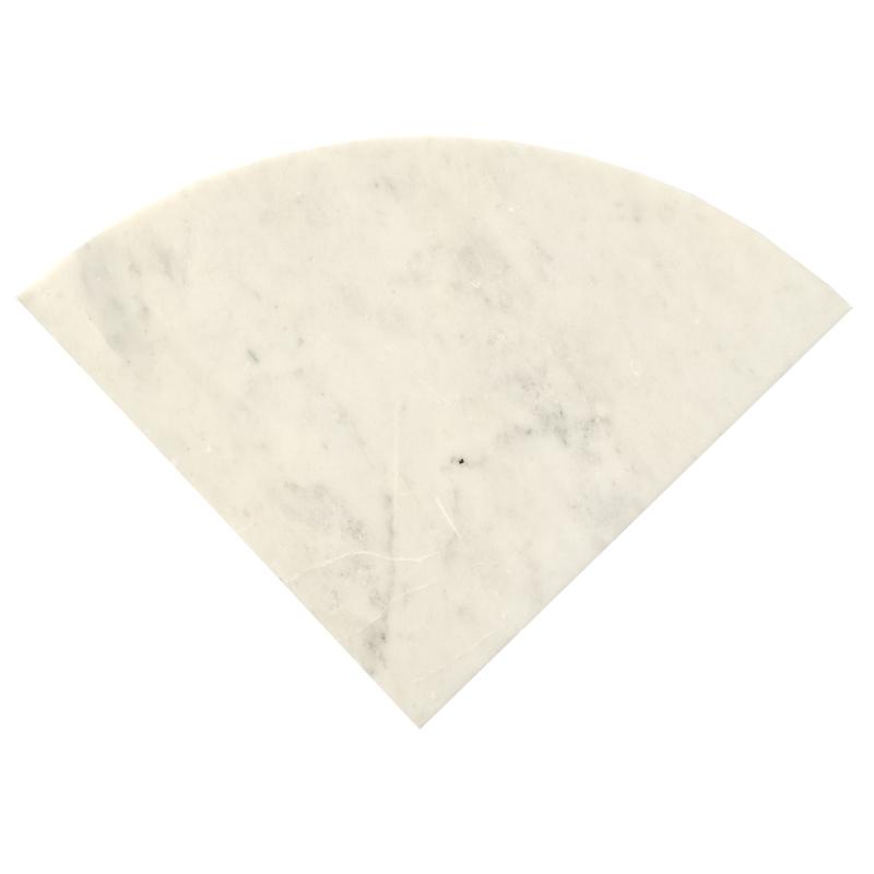 White Marble Corner Shelf